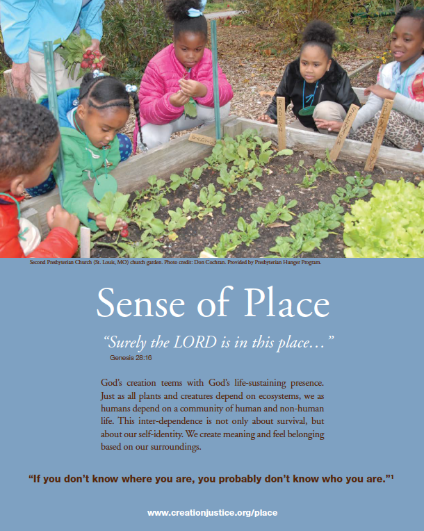Sense of Place Cover Page